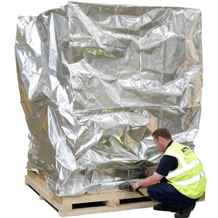 Image of Packed Large Machine
