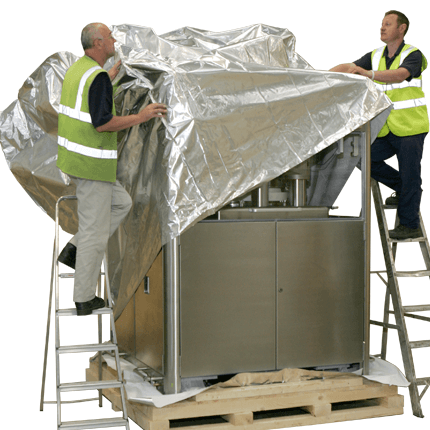 Image of Machine Being Packed